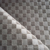 Embossed Velvet Short Pile Polyester Fabric for Home Textile