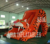 Outdoor Inflatable Sabertooth Tiger Slide for Park