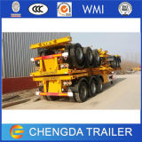 3 Axles 40 FT 40feet 20feet Skeleton Container Trailer