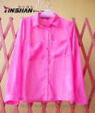 Ladies' Chiffon Blouse with Pockets