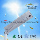 Outdoor Lighting Aluminum Lighting 18W Integrated Solar LED Street Light