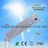 Outdoor Lighting Aluminum Lighting 18W Integrated Solar LED Street Light