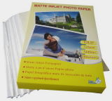 125g Single Sided Cast Coated Matte Photo Paper (JM125)