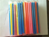 Film Wrapped Pearl Milk Tea, Colorful Staright Drinking Straw