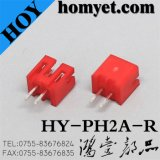 Manufacturer 2pin Socket Connector with Red Color for Digital Products (pH2A-R)