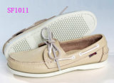 Top Quality Genuine Leather Lining Boat Shoes for Women