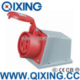 Industrial Wall Mounted Receptacle by IEC Standard (QX-111)