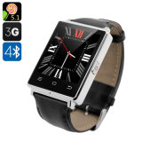 3G Smartwatch Android Phone Core 1.3GHz GPS WiFi Bluetooth 4.0