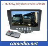 "7"" HD Digital Panel 800*480 DC12-32V Sunvisor Car Reverse Monitor"