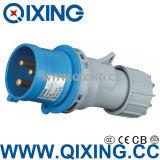 Industrial Plug 16A 230V 2p+E IP44