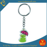 High Quality Cartoon Creative Frog Designs Soft PVC Key Chain with Customized Publicity Logo
