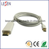 Displayport Cable, Mini Displayport Male to HDMI Male, White