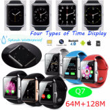 Fashionable Bluetooth Smart Watch Phone with Waterproof &Sleep Monitor Q7