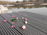 Waterproof PE WPC Decking Outdoor Plank Board 146X22