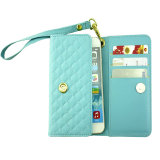 PU Leather Phone Cases for iPhone 6/6s/6p/7/7s/7p Lady Wallet