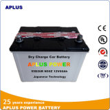 Professional Manufacturer with Plate Factory for Car Battery 12V 60ah