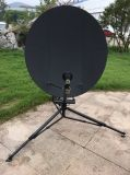 Professional 1.2m Full Carbon Fiber Rxtx Flyaway Satellite Dish Antenna