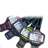 Sport Gym Colorful Chargeable LED Armband for Mobile
