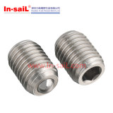 DIN Hex Drive Stainless Steel Ball Plungers