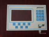Electrical 19 Keys Dull Polish Flexible Membrane Switch Touch Panel with LCD Screen