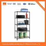 5 Tier Black Wire Shelf