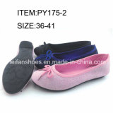Newest Women Casual Canvas Shoes Flat Footwear Shoes Wholesale (FFPY0227-03)