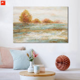 Sea Waves Wall Picture Island Canvas Art Print
