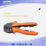 Hand Crimping Plier for Insulated Terminals and Butt-Connectors