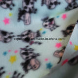 Cartoon Print Polar Fleece with Two Side Brushed