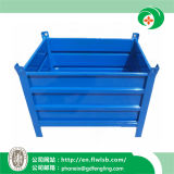 Customized Collapsible Steel Turnover Container for Warehouse by Forkfit
