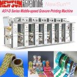 Asy-D Series Rail Paper Gravure Printing Presses