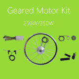 36V 250W/350W Small Geared Brushless Electric Bikes DC Motor Waterproof LCD System Kit