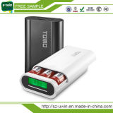 Tomo V8-3 Smart 18650 Portable Power Bank with Double Output and LCD Display