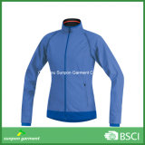 Detachable Winter Softshell Jacket with Zipper Connect with Vest