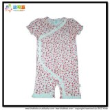 Bubble Sleeve Baby Clothes Kimoni Style Baby Girl Romper