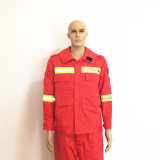 Unisex Work Clothing Logo Label Safey Fr Orange Workwear for Factory Leader