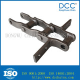Steel Heavy Duty Narrow Series Welded Roller Conveyor Chain for Transmission
