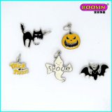 Chinese Promotioanl Custom Wholesale Halloween Enamel Pendant