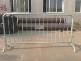 Poweder Coated/Galvanized Temporary Barricade Safety Barriers Crowd Barrier