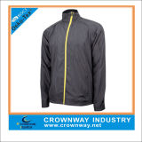 Mens Sports Lightweight Windbreaker Jackets with Reflective Printing