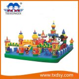 Funny Bouncy Castle, Amusement Park Type Inflatable Castle