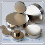 Nickel Plating Big Disc Permanent Neodymium Magnet