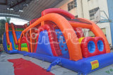 2015 Cheap New Inflatable Obstacle Slide Tunnel Combo