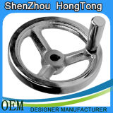 Cast Iron Chroming Handwheel with Square Edge