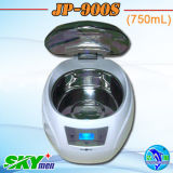 750ml Mini Electric Plastic Ultrasonic Cleaner for CD Record Disks Washing (JP-900S)