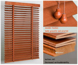 50mm Basswood Venetian Blinds with UV Coating