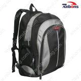High Quality Black 1680d Durable Laptop Bag Backpack