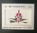 Handpicked Mermaid and Tribal Style Face and Eye Jewels Forehead Stage Decor Sticker (S070)