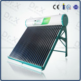 2016 Hot Selling Compact Non-Pressurized Vacuum Tube Solar Water Heater