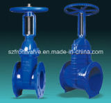 DIN Cast Iron Rising Stem Gate Valve